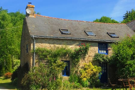 Mimosa Cottage - Morbihan, Brittany - Langonnet