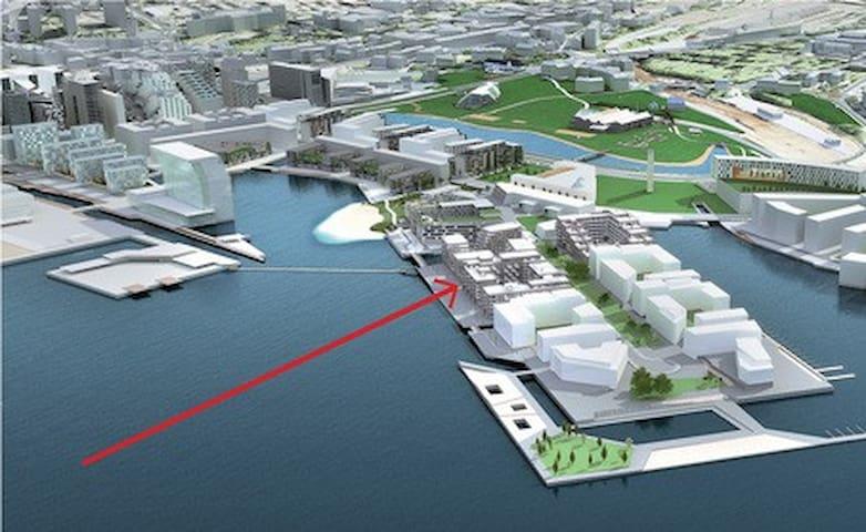 Waterfront apt, close centrum, Central st  / Opera