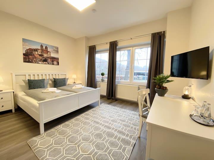 Doppelzimmer mit Frühstück, WLan und Aussicht