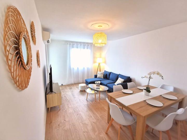 Chambre cosy et rénovée à Montpellier