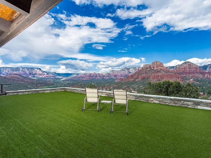 Eagles Nest/A Panoramic Vista of RED ROCK Splendor
