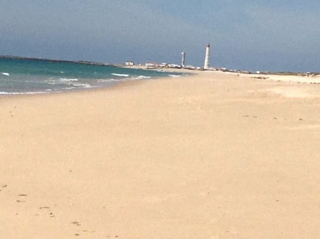 voted best beach on the algarve - Faro