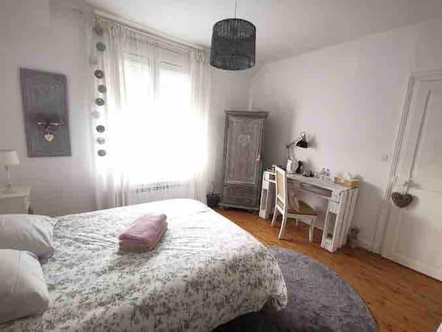 Belle chambre  proche du centre ville