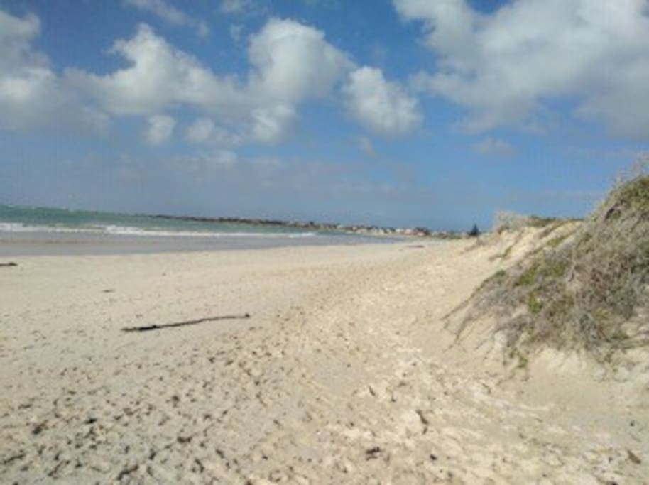 20 metres from 25 km stretch beach