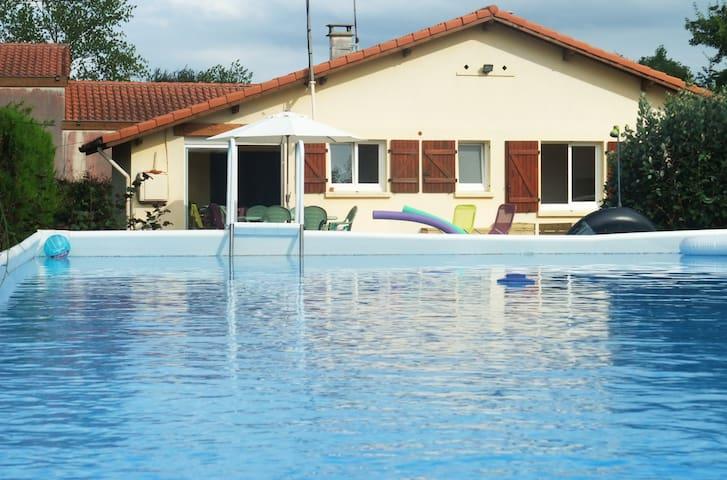 Maison 6pers. avec piscine à Vielle-saint-girons - Vielle-Saint-Girons - Dům