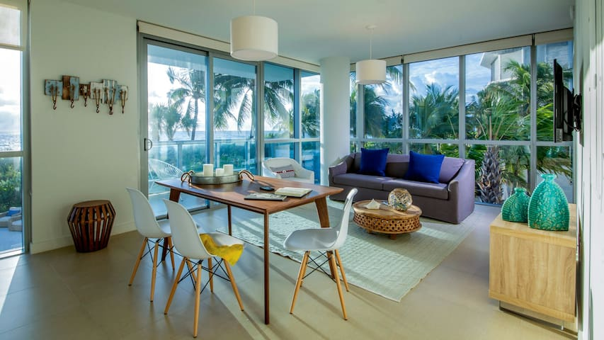 Domio | Miami Beach | Beachfront Ocean View + Balcony | 1 BR
