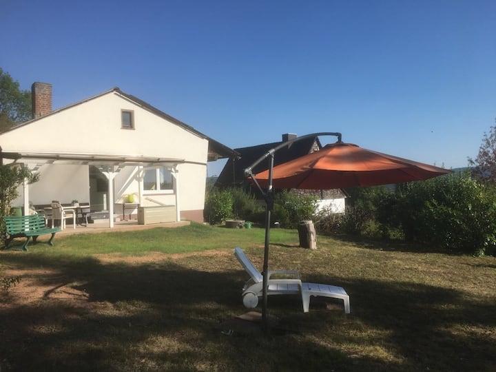 Ferienhaus in Meinhard mit Werratal-Blick