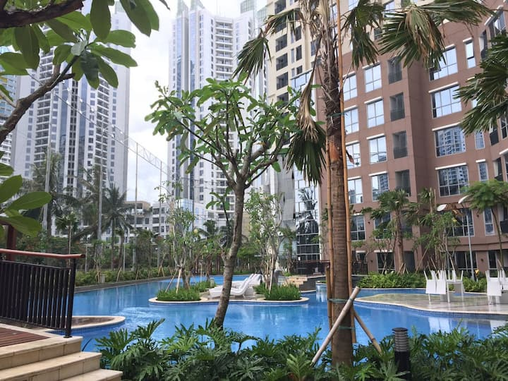 1BR The Mansion Apartment near JIEXPO Kemayoran