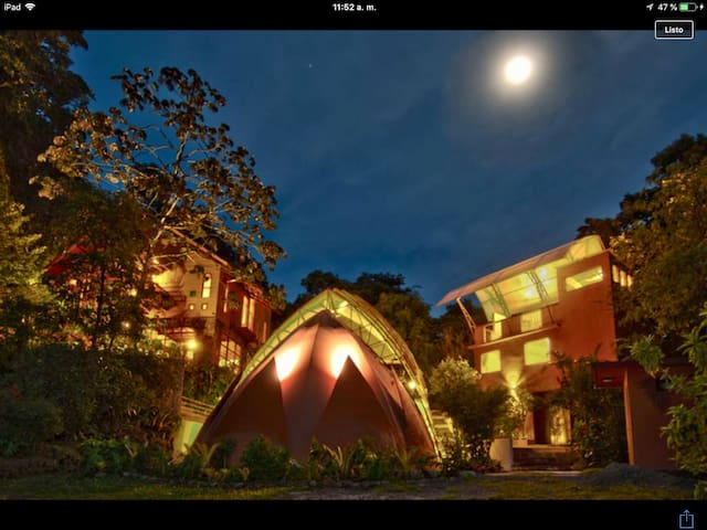 Guarumo, Apartments and Loft in the cloud forest.