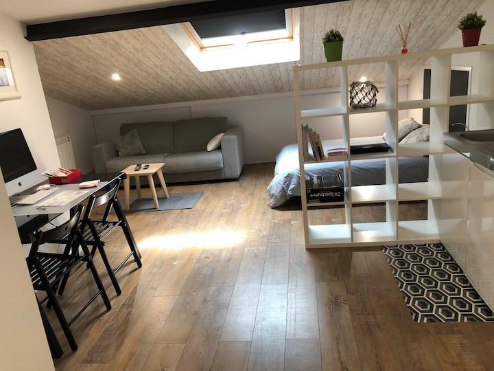 Mini apartamento en Ciudad Vieja
