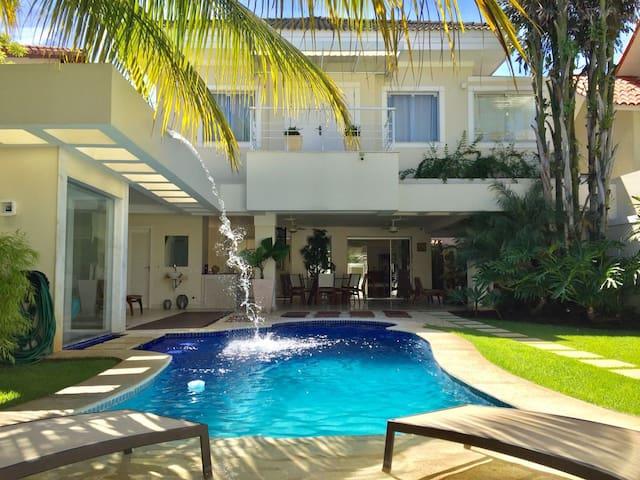 Maravilhosa Casa (5 Suites) na Barra da Tijuca