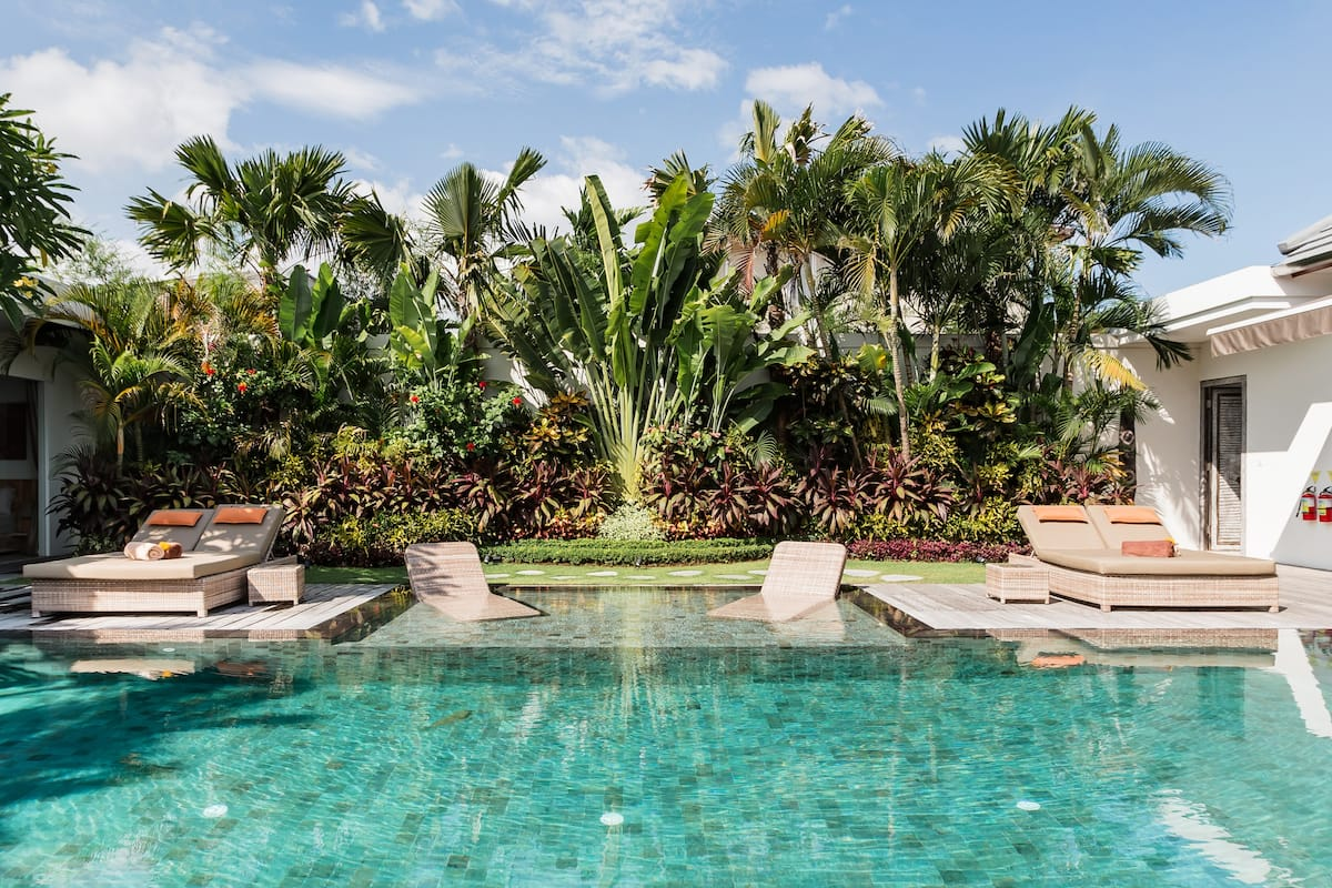 M - Villa Seminyak with four bedrooms, pool and staff