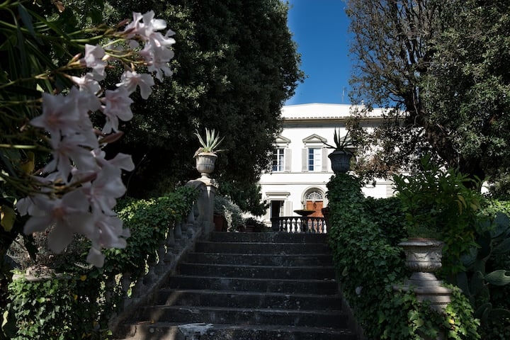 Villa Tenuta Le Case Nuove with pool and garden