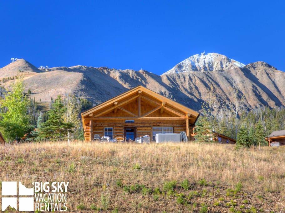 Big Sky Resort, Cowboy Heaven Cabin 11 Derringer, Exterior, 2
