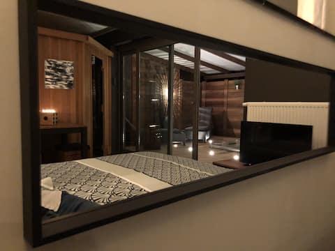 La chambre d'ô  Suite & spa privatif