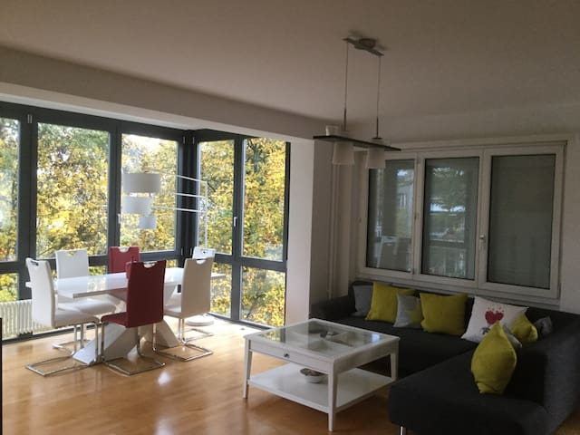 Nice room in luxury flat, downtown - Bern - Apartment