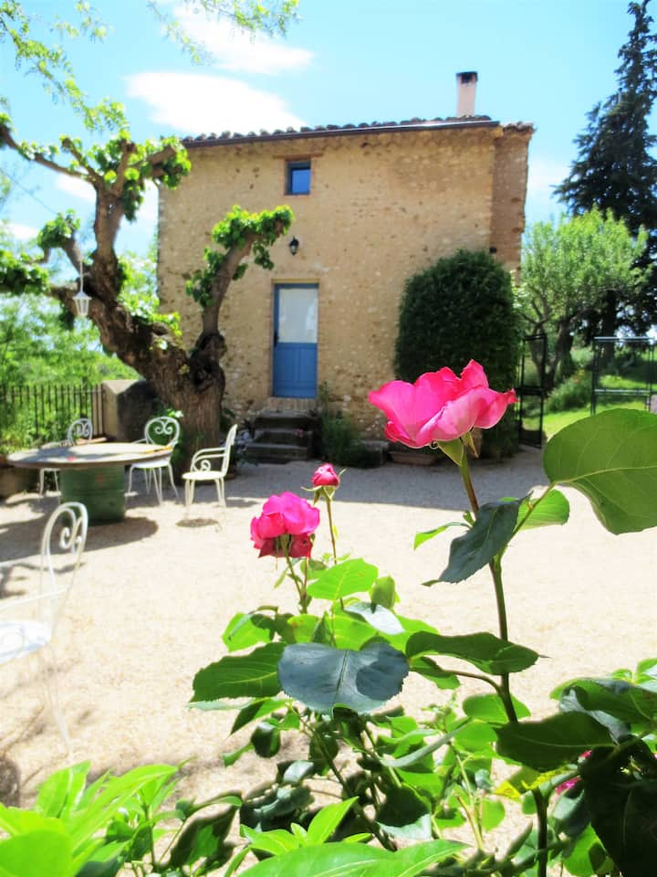 House with 2 bedrooms in Allemagne-en-Provence, with furnished garden and WiFi