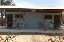 Jardin Pacifico Beach Bungalow Room #1 (en suite)
