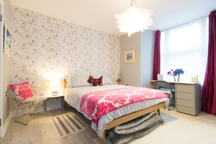Beautiful Ensuite Double Room near Glasgow Airport - Paisley - Leilighet