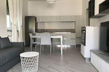 Zona living - cucina