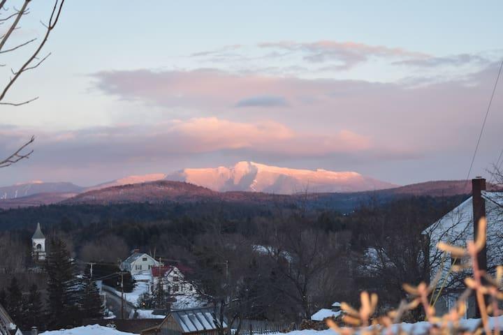 Vermont 1850s village home