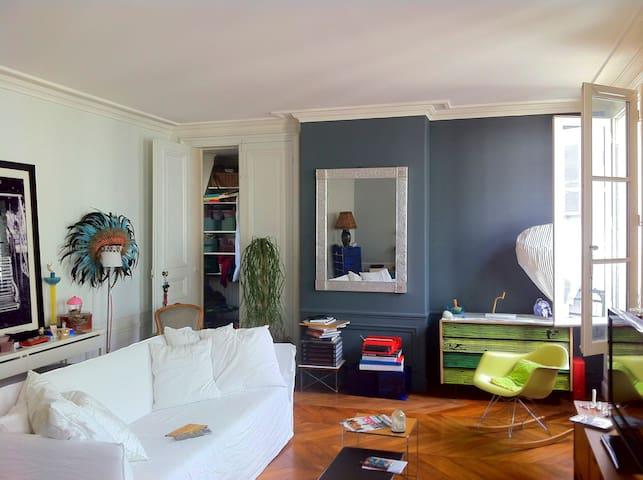 Chambre 1 personne dans un grand appartement - ปารีส - อพาร์ทเมนท์