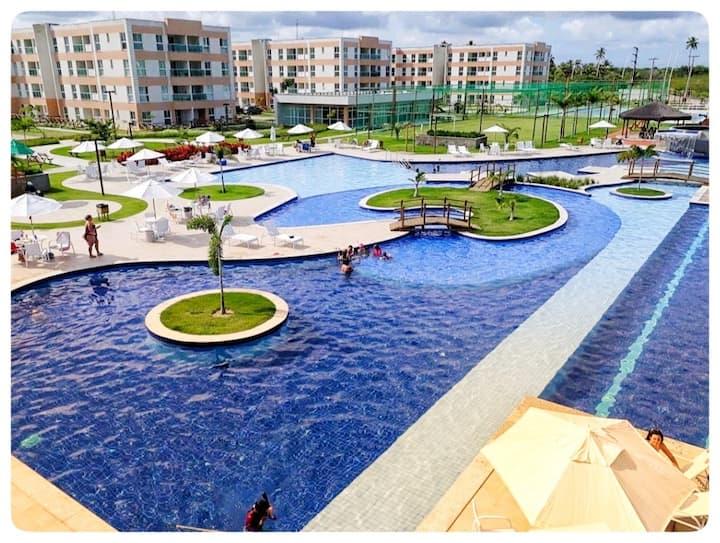 Flat  Porto de Galinhas Lindo Apartamento Equipado