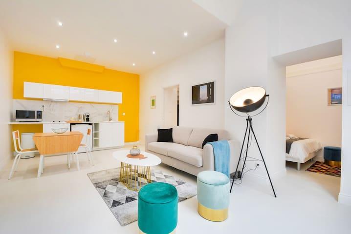 Appartement au coeur du patrimoine nancéien