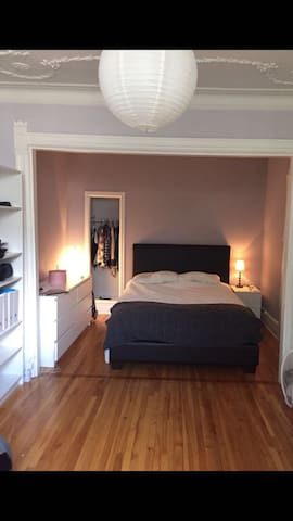 Grande  Chambre 2pers -Plateau Mt Royal/Mile End
