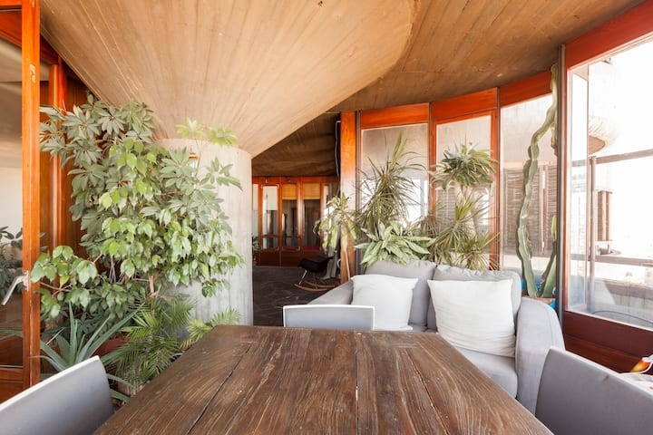 Habitación en obra maestra de arquitectura