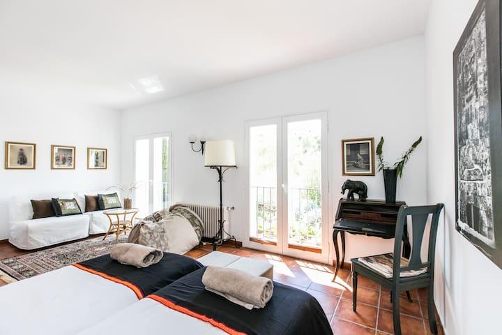 Bright twin room - Santa Gertrudis de Fruitera - Bed & Breakfast