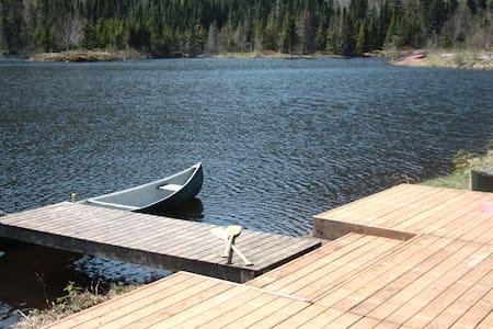 Chalet Mahingan (accès lac et rivière) 100% nature - Faház