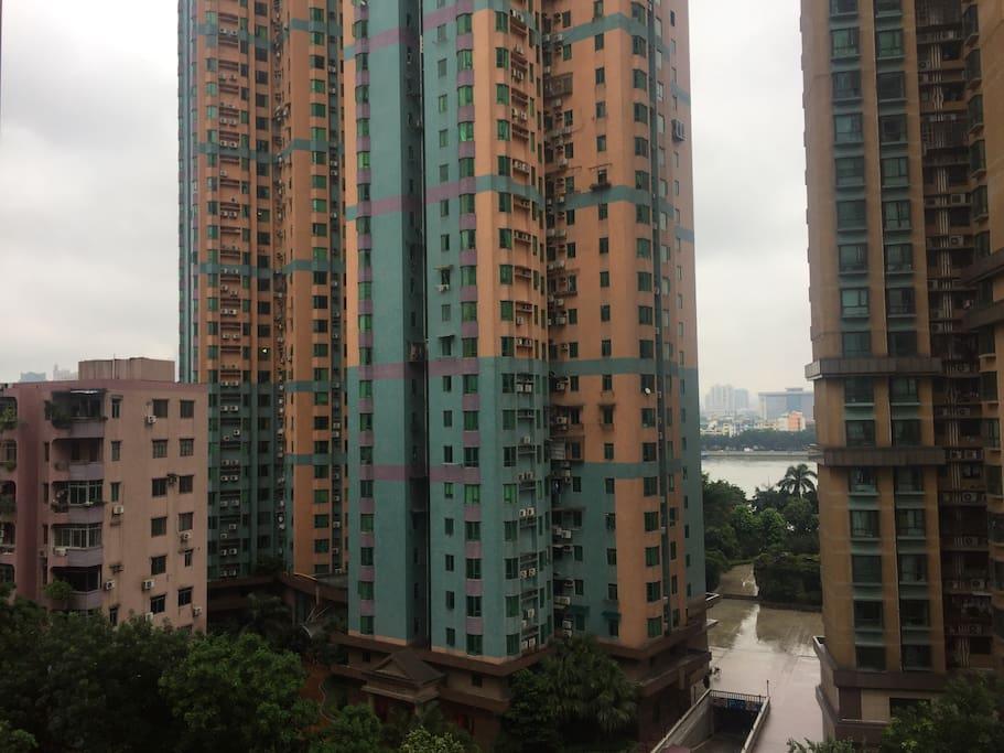 滨江豪宅,距离广州珠江仅2分钟走,下楼就到江边