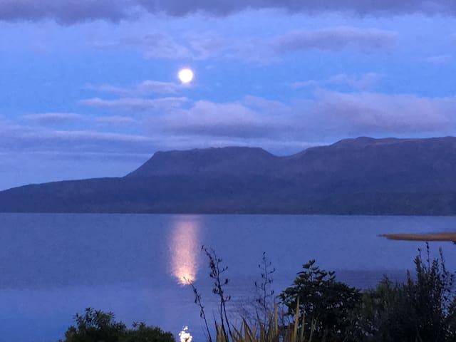 Iconic Bach - Lake Tarawera