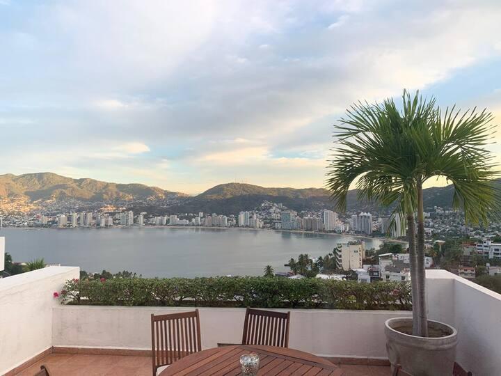Departamento en Brisas Acapulco c/jacuzzi