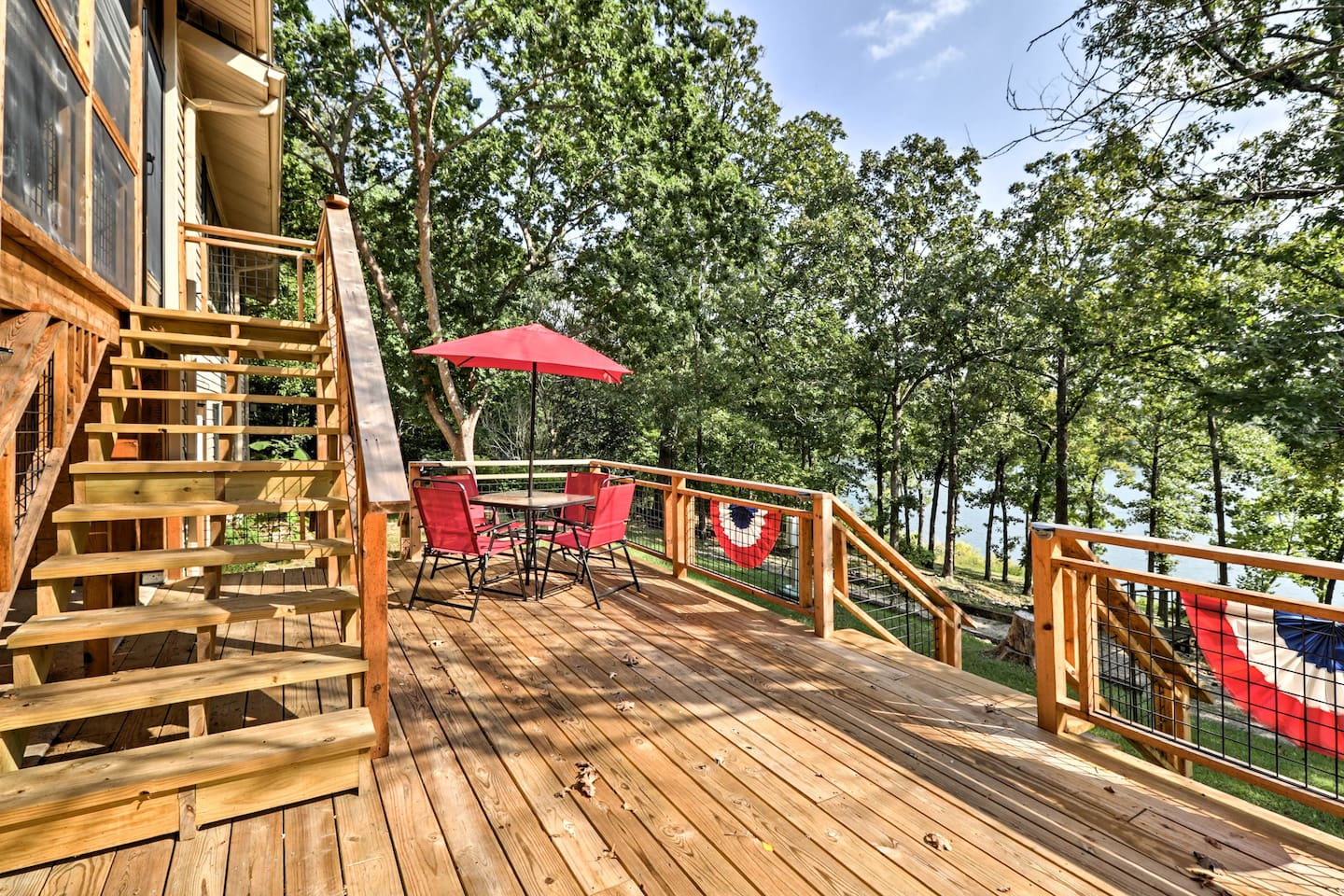 Get ready for the ultimate lake retreat at this vacation rental house!