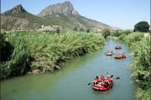 Rafting para todas las edades y niveles por el Segura. Disfruta tambien  de la Murcia interior