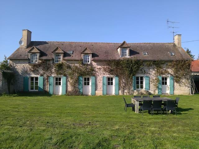 CHARMANTE MAISON ANCIENNE AVEC GRAND JARDIN - Gazeran - 獨棟