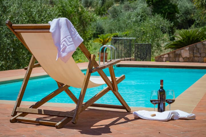 Emaa 1 - Pool and view close to Lucca. Terrace.