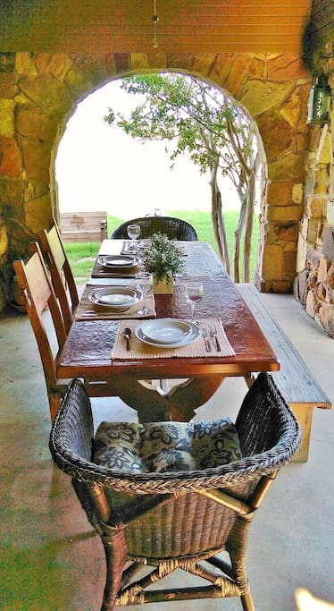 Dine indoors or outdoors
