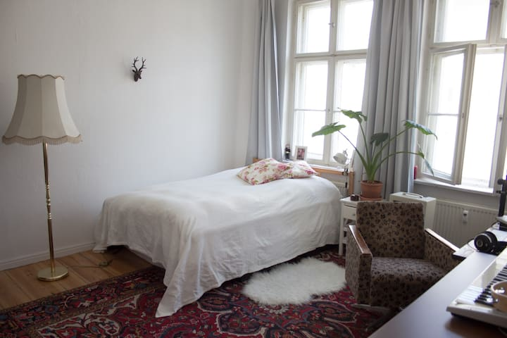 quiet and cozy room in the center of Berlin
