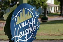 Villa Heights is a popular, up and coming neighborhood.