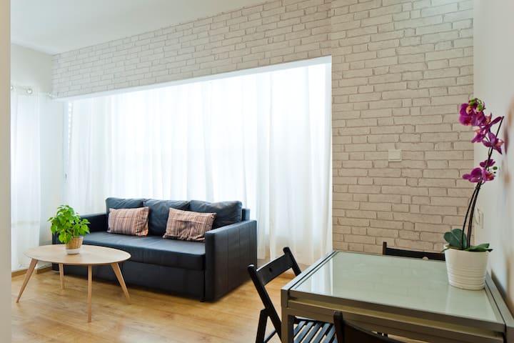 PRIME Location 2 Rooms comfortable accommodatin 4P