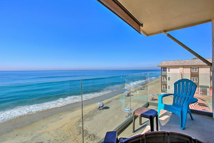 Luxe Carlsbad Condo w/Ocean View - Walk to Village