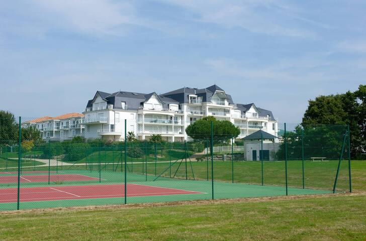 Appartement cosy et sympa, sur le terrain de golf !