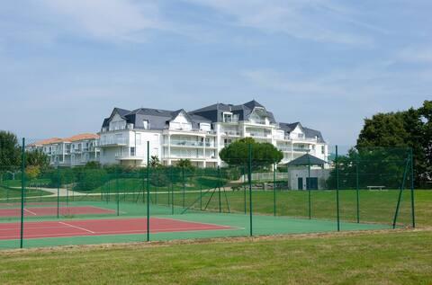Appartement abordable et cosy, sur le terrain de golf !