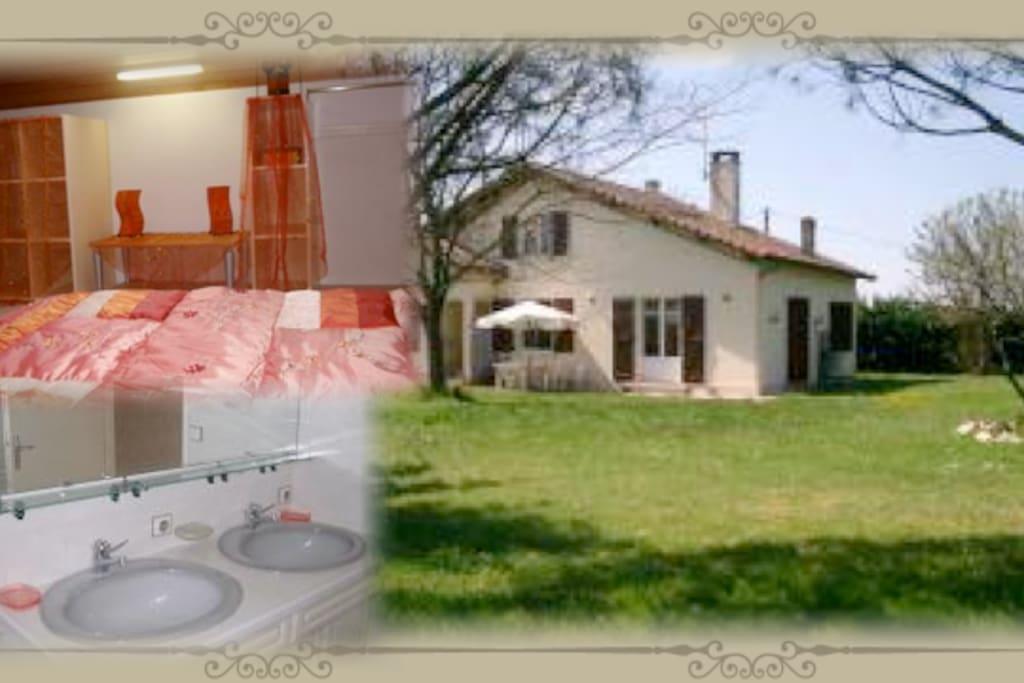 Bienvenue chez nous maisons louer eug nie les bains - Chambre d hote dans l oise bienvenue chez nous ...