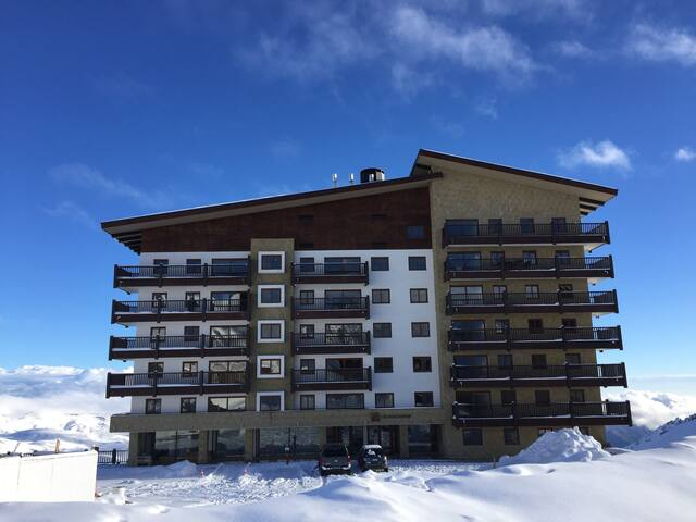 Valle Nevado 100m2 New Apartment 7pax (3B,2B)