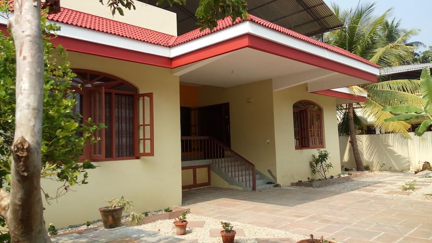 Family-friendly home in God's Own Country - Kochi - House