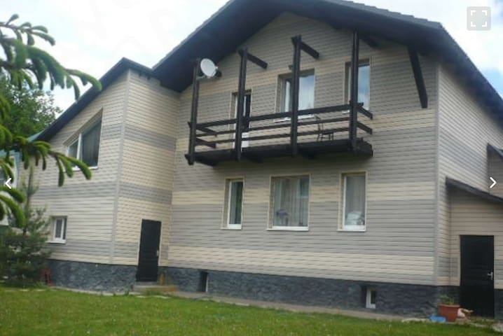 House with pool 20 min from Moscow!